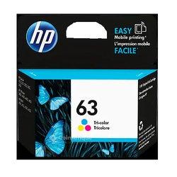 Cartouche d'encre HP  63 couleurs