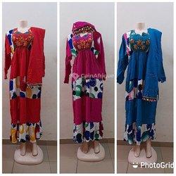 Robe avec foulard