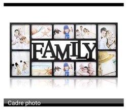 Cadre photo familial