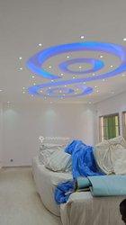 Travaux de faux plafond moderne
