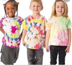 Tee-shirts multi-couleurs enfant