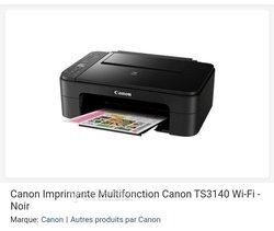Imprimante Canon ts3140