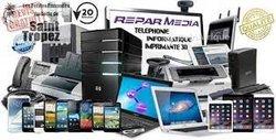 Réparation téléphone - ordinateur et télévision
