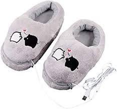 Chaussures chauffantes avec câble usb
