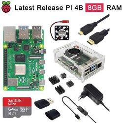 Kits complets Raspberry Pi 4 - 8 go