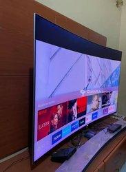 "TV incurvé Samsung smart 55"" Uhd ultra slim 4k premium  2019"