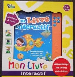 Livre interactif éducatif  enfants