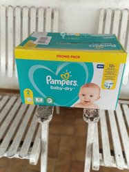Couches Pampers N°2