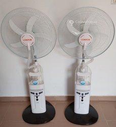 Ventilateur rechargeable à vapeur