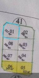 Vente Terrain 337 m² - Rayongo