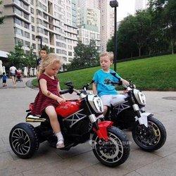 Moto télécommandée enfant