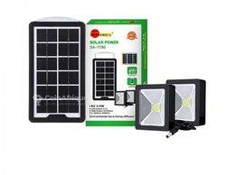 Kit solaire avec 2 ampoules