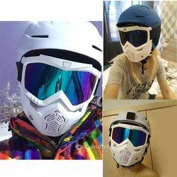 Lunettes et masque moto