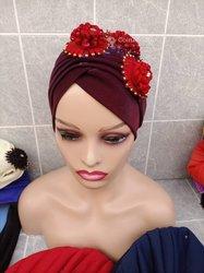 Bonnet pour femme africaine