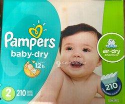 Couches bébé Pampers
