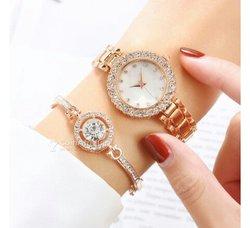 Montre + bracelet femme