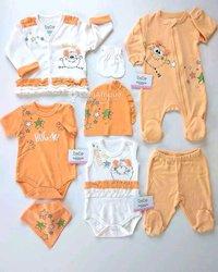 Ensemble vêtements bébé - 8 pièces