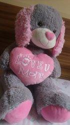 Peluche Love U More