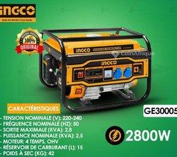 Groupe électrogène Ingco