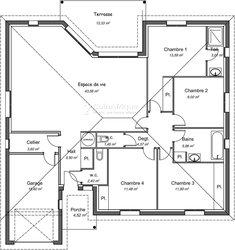 Plan bâtiment