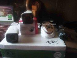 Caméra de surveillance 4 pièces