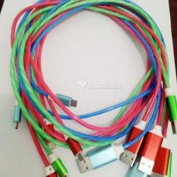 Câble USB lumineux