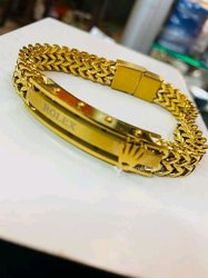 Bracelet en or plaqué