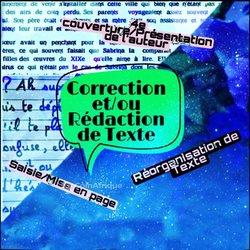 Correction / rédaction de texte