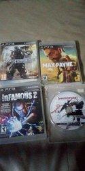 4 Jeux PlayStation 3