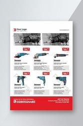 Création de catalogue - flyers et carte de visite