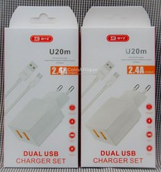 Chargeur Duo 2.4A BYZ