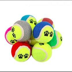 Balle de tennis flexibles en caoutchouc