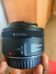 Objectif Canon EF 50mm STM