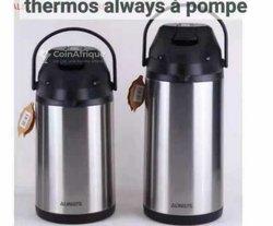 Thermos à pompe