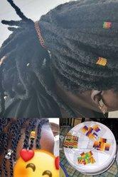 Perles de cheveux