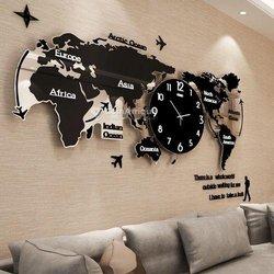 Horloge - Carte du Monde