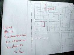 Vente Parcelle 1100 m² - Présidence du Faso