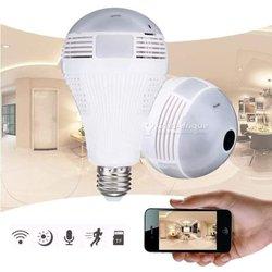 Ampoule caméra de surveillance IP