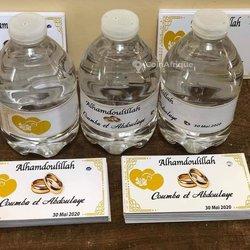 Personnalisation de sacs et bouteilles