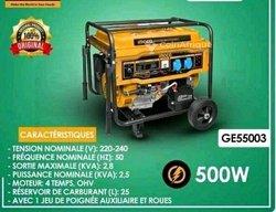 Générateur à essence