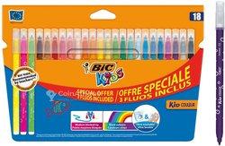 Bic kids kid couleur feutres de coloriage à pointe moyenne