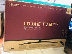 TV LG UHD 75 Pouces