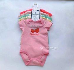 Ensemble vêtements bébé 5 pièces - coton