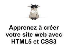 Livre - Apprenez à Créer Votre Site Web Avec HTML5 et CSS3