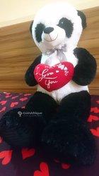 Panda géant I Love You