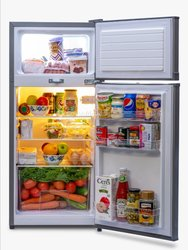 Réfrigérateur Néon 144litres 2battants