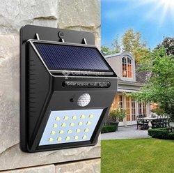 Lampe solaire capteur de mouvement