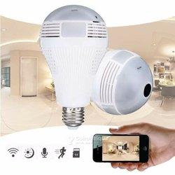 Caméra de surveillance ip wifi hd 960p - vision nocturne - détection de mouvement format ampoule