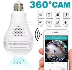 Ampoule à caméra 360°