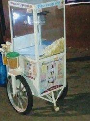 Machine de pop corn